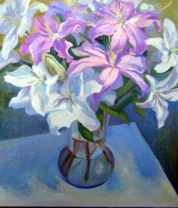 "25"" x 22"" Oil on Canvas"